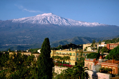 TAORMINA WITH MT ETNA - 1994