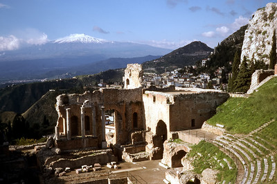 GREEK THEATER - TAORMINA 1994