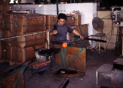 GLASS BLOWER - VALLETTA