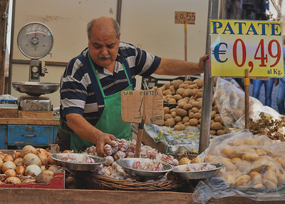BALLARO MARKET - PALERMO, SICILY