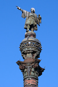 COLUMBUS MONUMENT - BARCELONA