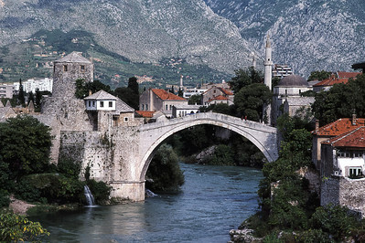 OLD TURKISH BRIDGE - MOSTAR