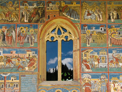 PAINTED MONASTERIES - LOWER BUCOVINA