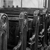 Pews in the Great Synagogue, Dohany Street, Budapest, Hungary