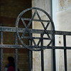 Star of David on railings around the Great Synagogue, Dohany Street, Budapest, Hungary