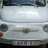 Close-up of the front of a car, Budapest, Hungary