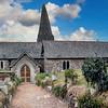 St Enodoc Church, Parish of St Minver, Cornwall, England