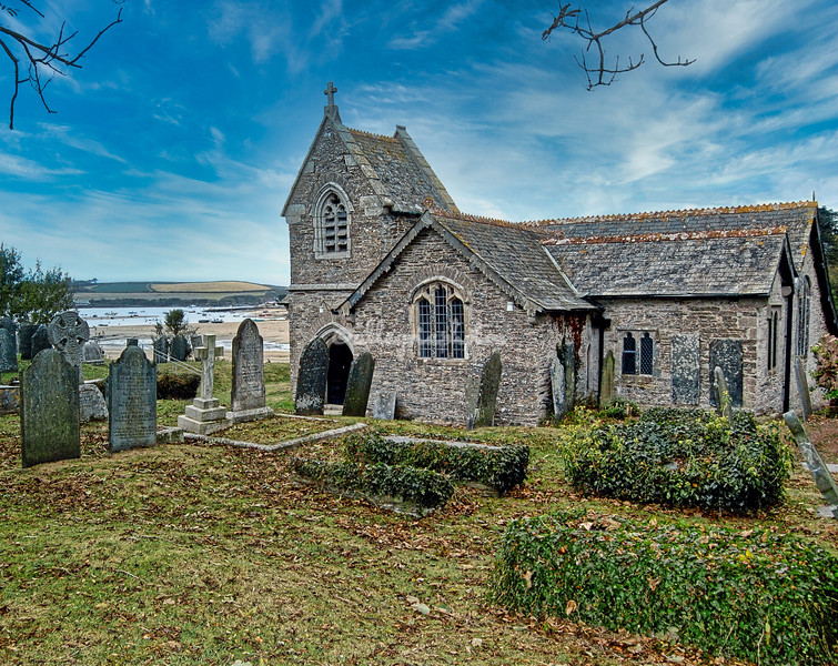 St Michaels Church, Porthilly, Rock, Cornwall