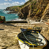 Lifeboats at Lizard Point, Cornwall, England