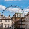 The London Eye from Horse Guard, London