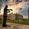Statue of Nelson Mandela, Parliament Square, London