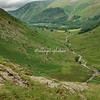 Overview from Wythburn Head Tarns towards Steel End, Cumbria, England