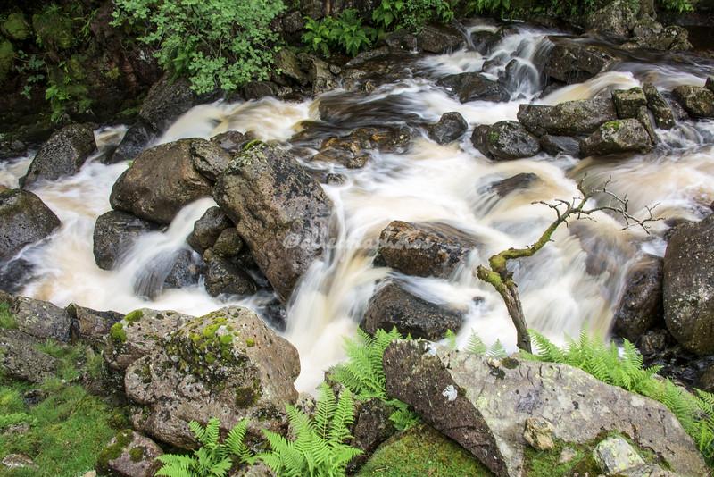 Wythburn Gill Falls, Cumbria, England