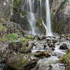 Fisherplace Gill Falls, Thirlmere, Cumbria, England