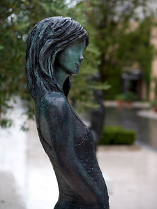 Close-up of a statue of a woman, Montenegro