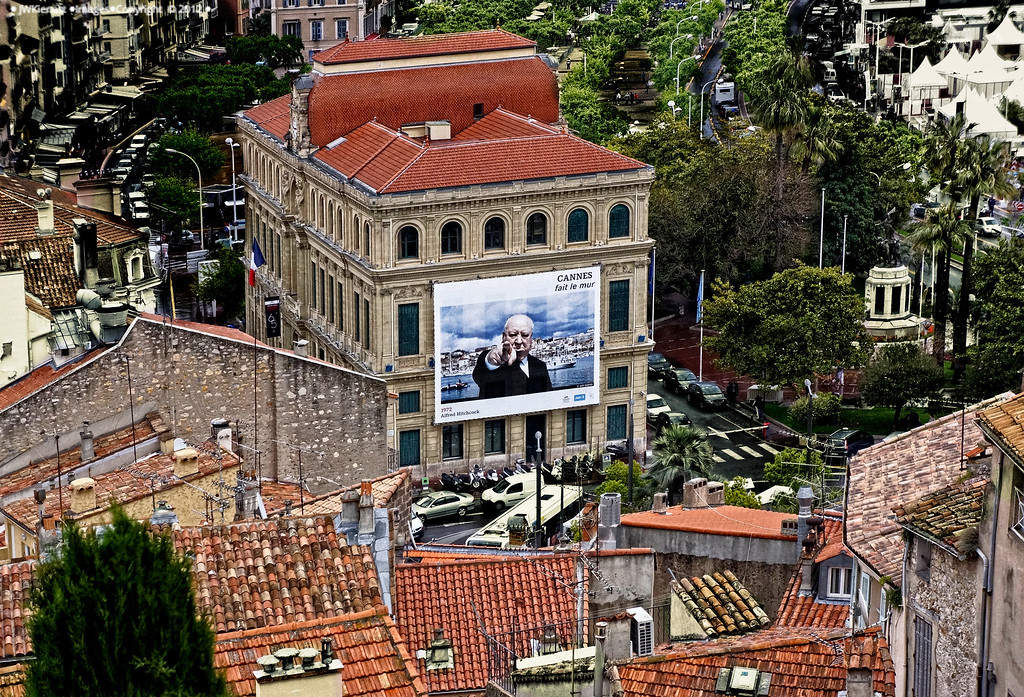 Cannes Film Festival 2012, Hotel de Ville on the Quai Saint Pierre.<br /> Hitch was there.