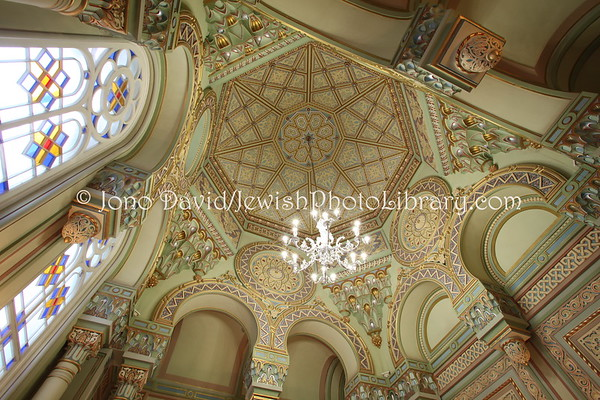 RUSSIA, St. Petersburg. Grand Choral Synagogue. (8.2011)