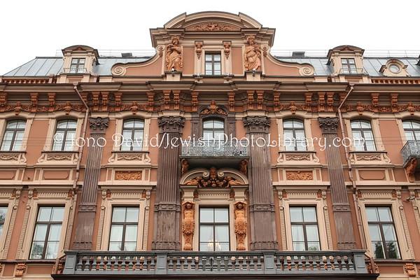 RUSSIA, St. Petersburg. Jewish buildings (former). (8.2011)