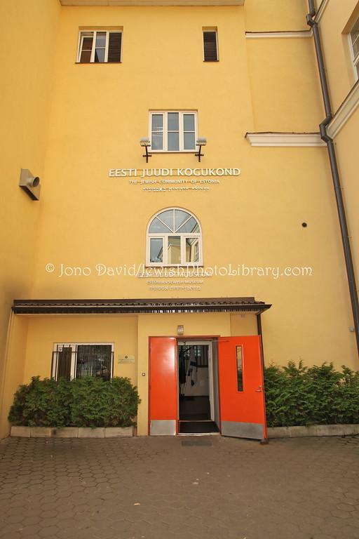 ESTONIA, Tallinn. Jewish Community Center of Estonia, Eesti Juddi Kogukond (8.2011)