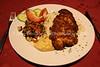 EE 36  Schnitzel, rice, veggies, hummus