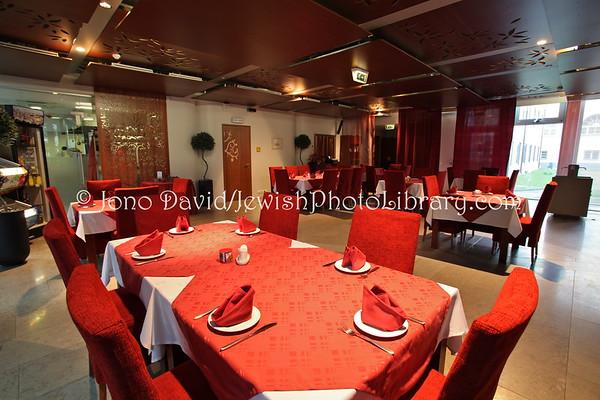 ESTONIA, Tallinn. Jeruusalemm Kosher Restaurant (at Tallinn Synagogue/JCC) (8.2011)