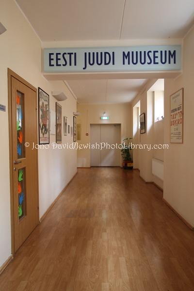ESTONIA, Tallinn. Estonian Jewish Museum; Eesti Muuseum (8.2011)