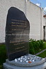 EE 155  Memorial to 878 male French Jews deported in May 1944; by 1945, only 22 survived