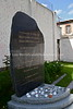 EE 154  Memorial to 878 male French Jews deported in May 1944; by 1945, only 22 survived