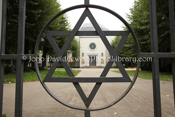 LATVIA, Riga. Jewish Cemetery (8.2011)