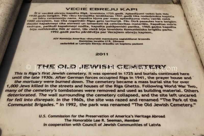 LV 791  Memorial, old cemetery