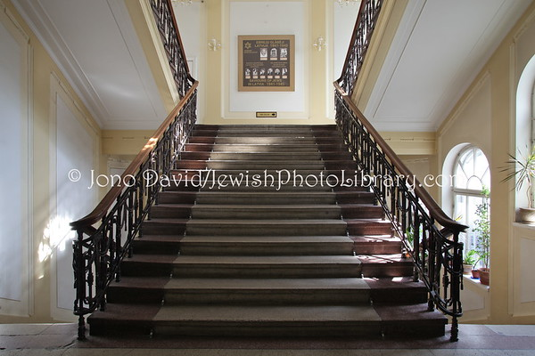 LATVIA, Riga. Jews in Latvia Museum. (8.2011)