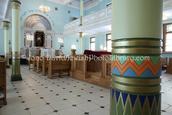 LATVIA, Riga. Peitav Shul, a.k.a. Riga Synagogue. (8.2011)
