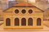 LV 369  Model of Liela Synagogue, Elizabetes iela 3, TUKUMS