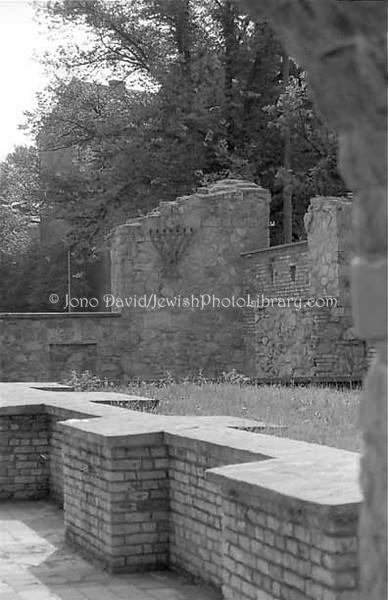 RIGA 1:19A  Big Choral Synagogue ruins