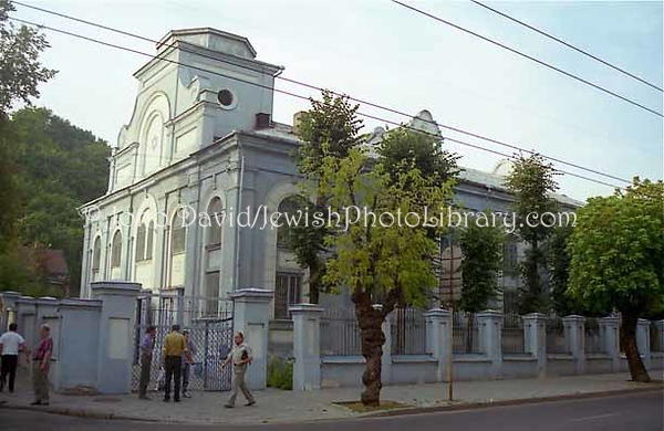 LITHUANIA, Kaunas. Choral Synagogue (at Ožeskienės 17). (1997)