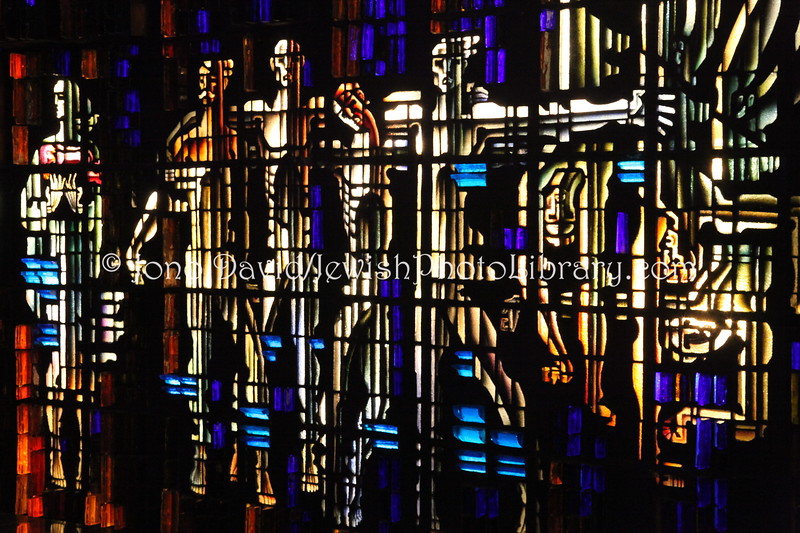LT 288  Undefeated Lithuania, stained glass by K  Morkunas, 1984