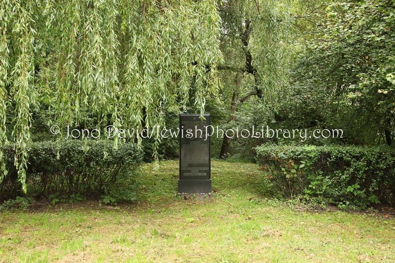 LT 781  Memorial to the last Jews killed in the Kovno (Kaunas) ghetto