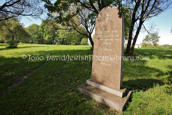 LITHUANIA, Telsiai. Jewish Cemetery. (9.2011)