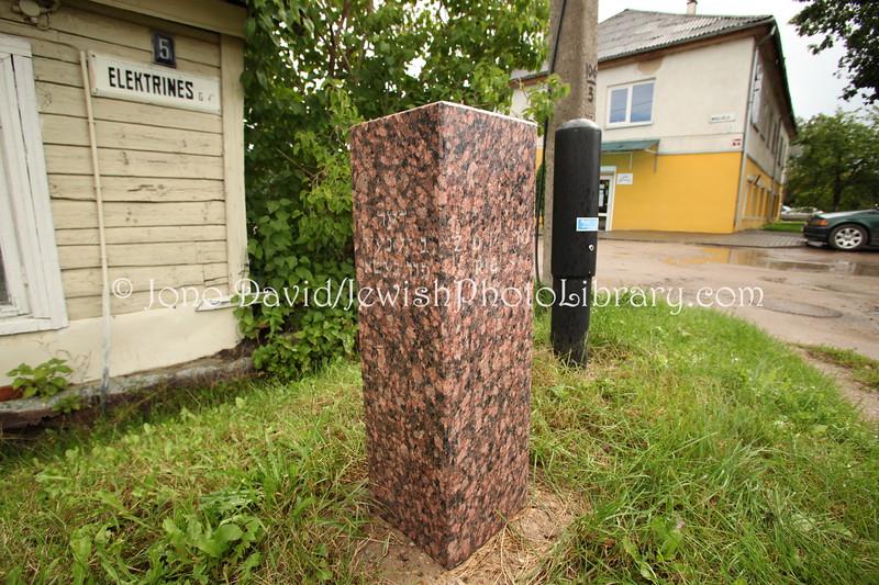 LT 1687  Ghetto marker