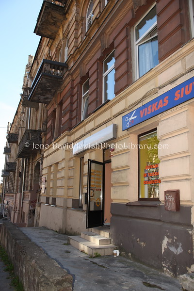 LT 2512  Home of Romain Gary (Roman Kacev), and other Jewish artists:writers (Basanaviciaus Steet 18)