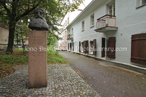 LITHUANIA, Vilnius. Monuments,  memorials, buildings. (9.2011)