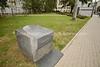 PL 521  Ghetto memorial marker next to Umschlagplatz Memorial