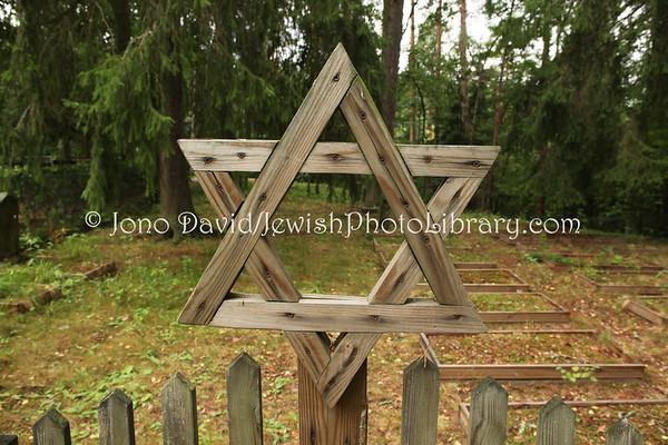 FINLAND, Hämeenlinna. Jewish Cemetery. (8.2011)