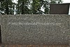 FINLAND, Helsinki. Monument to the eight Jewish refugees who were handed over to the Gestapo by Finnish authorities in 1942 and murdered at the Auschwitz-Birkenau, Tähtitorninmäki Park. (8.2011) :