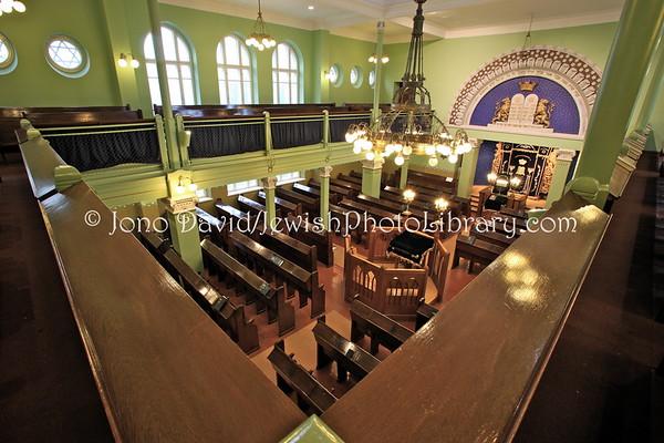 FINLAND, Helsinki. Helsinki Synagogue, (8.2011)