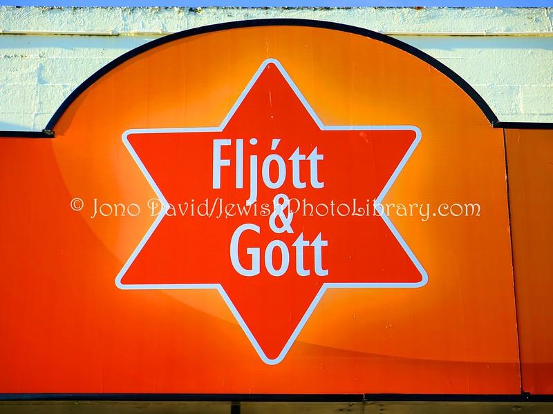 "IS 1  ""Fast & Good"" restaurant sign, BSI bus staton"