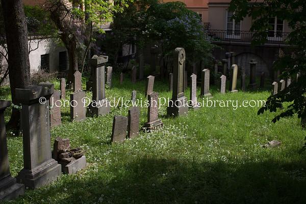 SWEDEN, Stockholm. Aronsberg Cemetery. (5.2018)