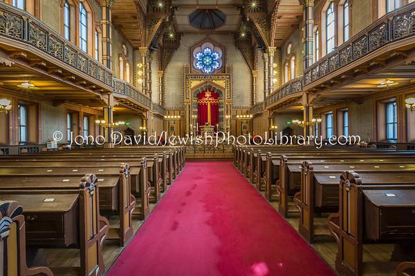 SWEDEN, Stockholm. Great Synagogue (5.2018)