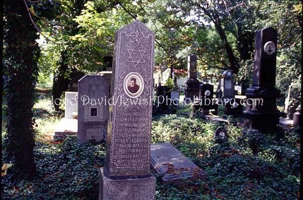 BULGARIA, Sofia. Jewish Sector, Sofia General Cemetery. (2004)