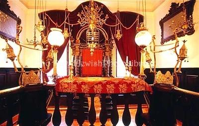 CROATIA, Dubrovnik. Old Dubrovnik Synagogue. (2004)